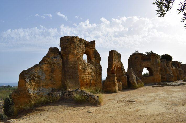 Valle de los Templos, en Agrigento, Sicilia (Italia)