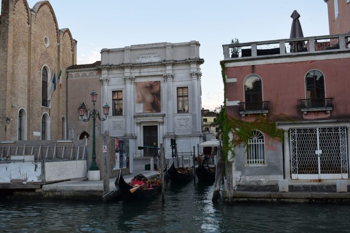Galleria de L'Accademia, Gran Canal, Venecia (Italia)