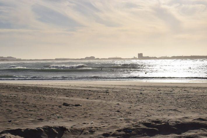 Playa Supertubos, Peniche (Portugal)