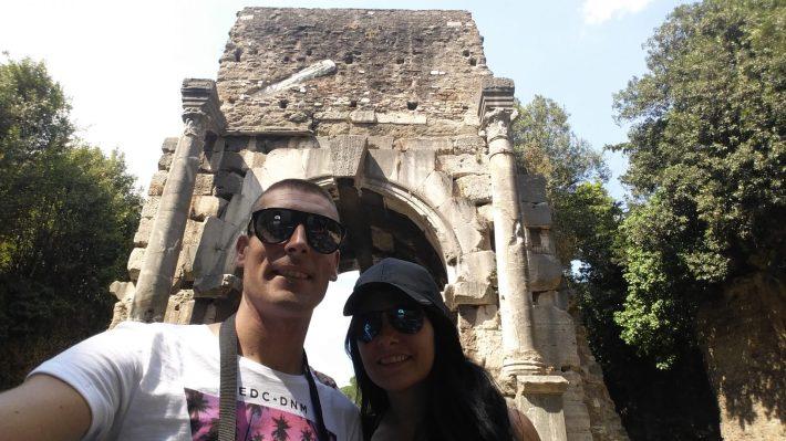Arco di Drusso, Via Appia Antica, Roma (Italia)