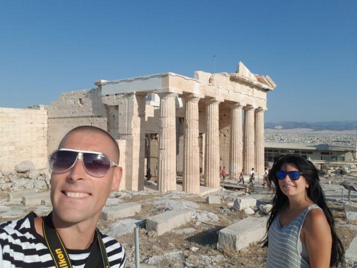 La Acrópolis, Atenas (Grecia)