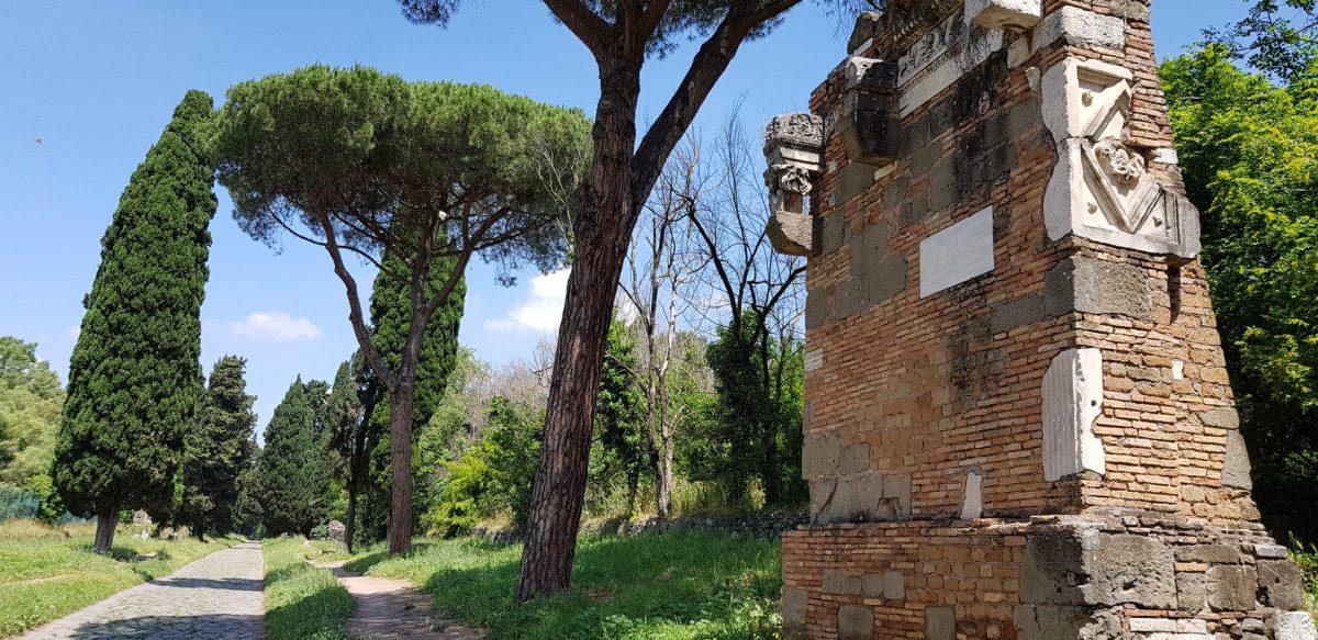 VIA APPIA ANTICA, ROMA (ITALIA) LA CALZADA MÁS ANTIGUA DEL MUNDO