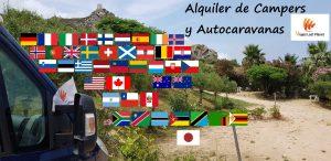 Alquiler Campers y Autocaravanas