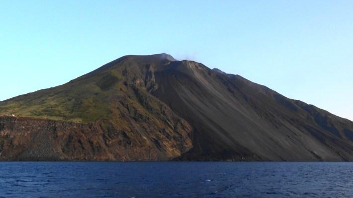 Sciara del fuoco, Stromboli, Islas Eolias, Sicilia (Italia)