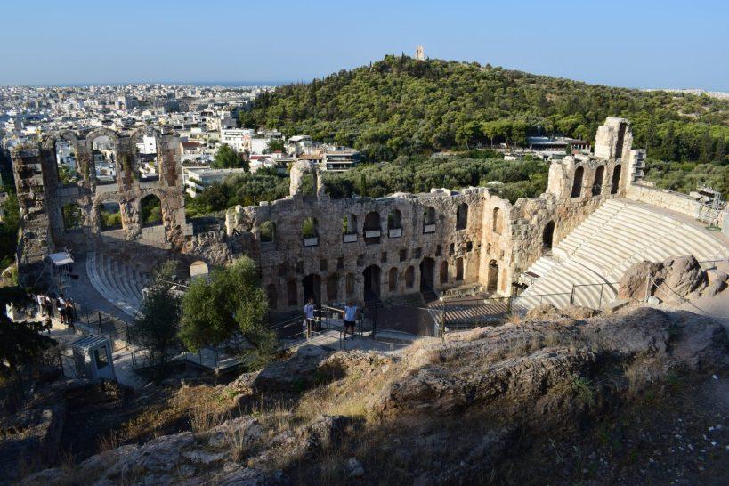 Teatro Odeón, La Acrópolis, Atenas (Grecia)