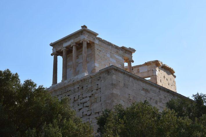 Templo de Atenea Niké, La Acrópolis, Atenas (Grecia)