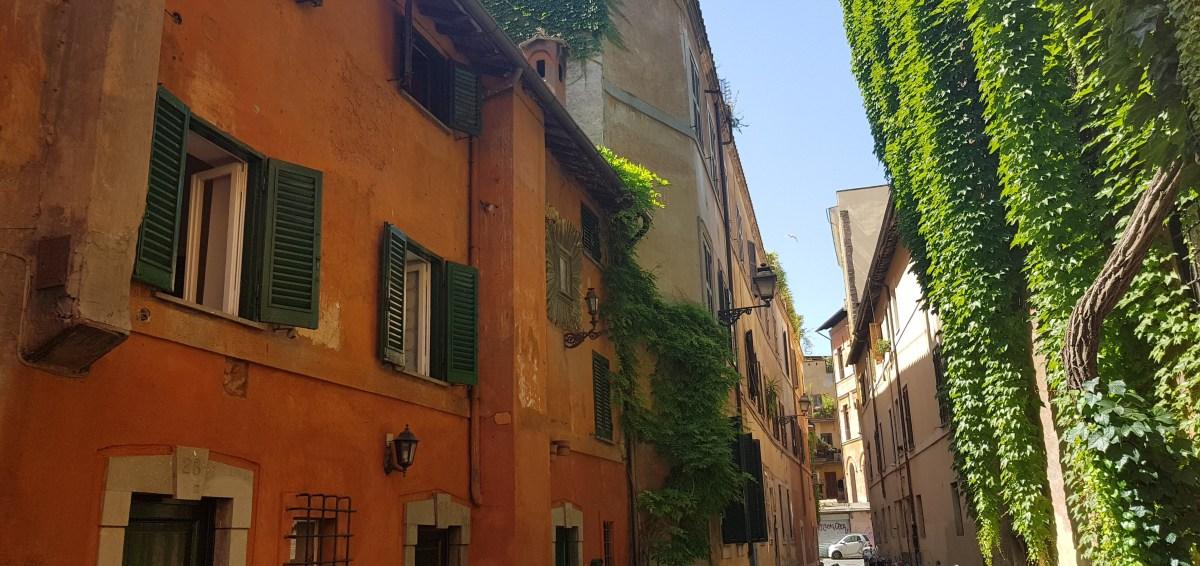 EL TRASTÉVERE Y EL GIANÍCOLO, ROMA (ITALIA)