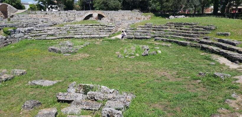 Anfiteatro, Paestum, Campania (Italia)