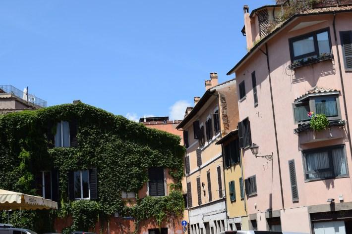 El Trastévere, Roma (Italia)