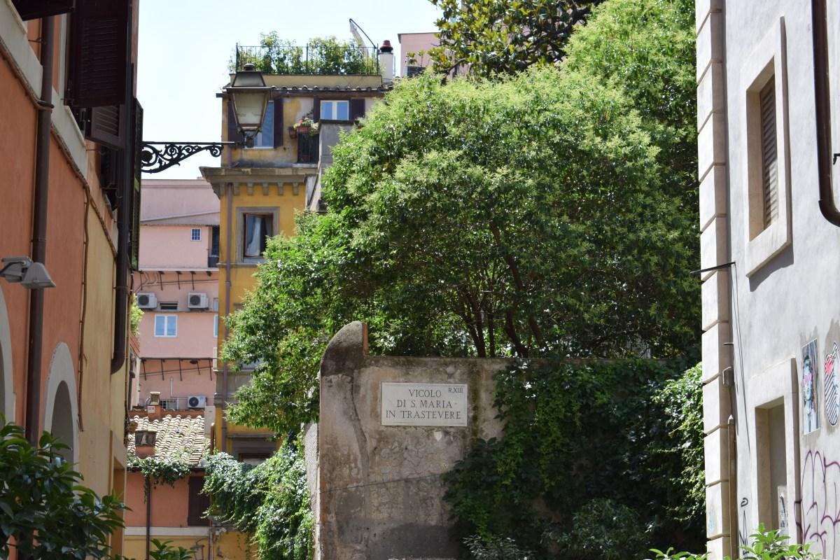 VIDEO: EL TRASTÉVERE Y EL GIANÍCOLO, ROMA (ITALIA)