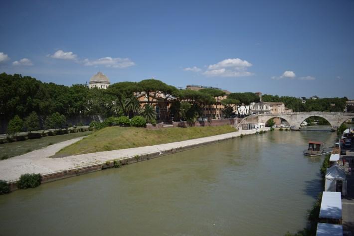 Isola Tiberina, Roma (Italia)