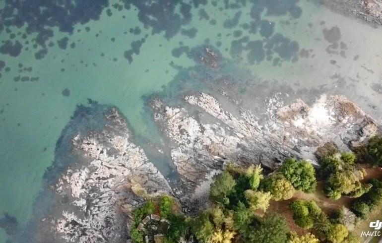 Desde el aire, Sada, A Coruña (España)