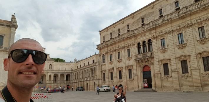 Piazza del Duomo, Lecce, Puglia (Italia)