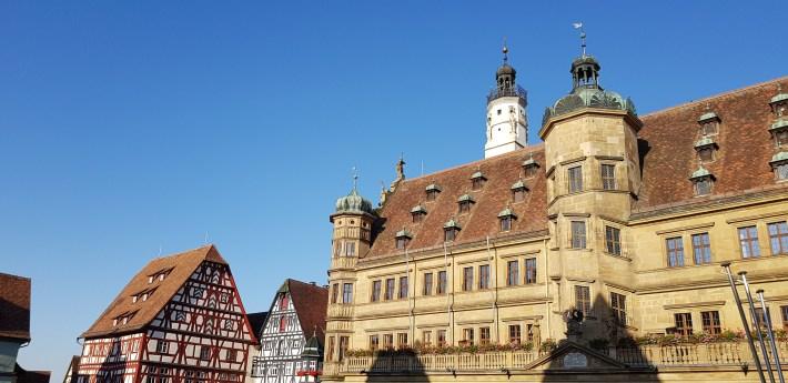 Marktplatz, Rothemburg Ob Der Tauber, La Ruta Romántica (Alemania)