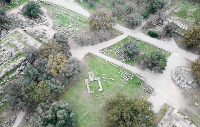 Ancient Olympia, Peloponeso (Grecia)