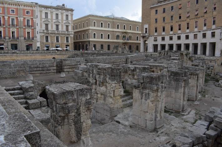 Piazza Sant´Oronzo, Lecce, Puglia (Italia)