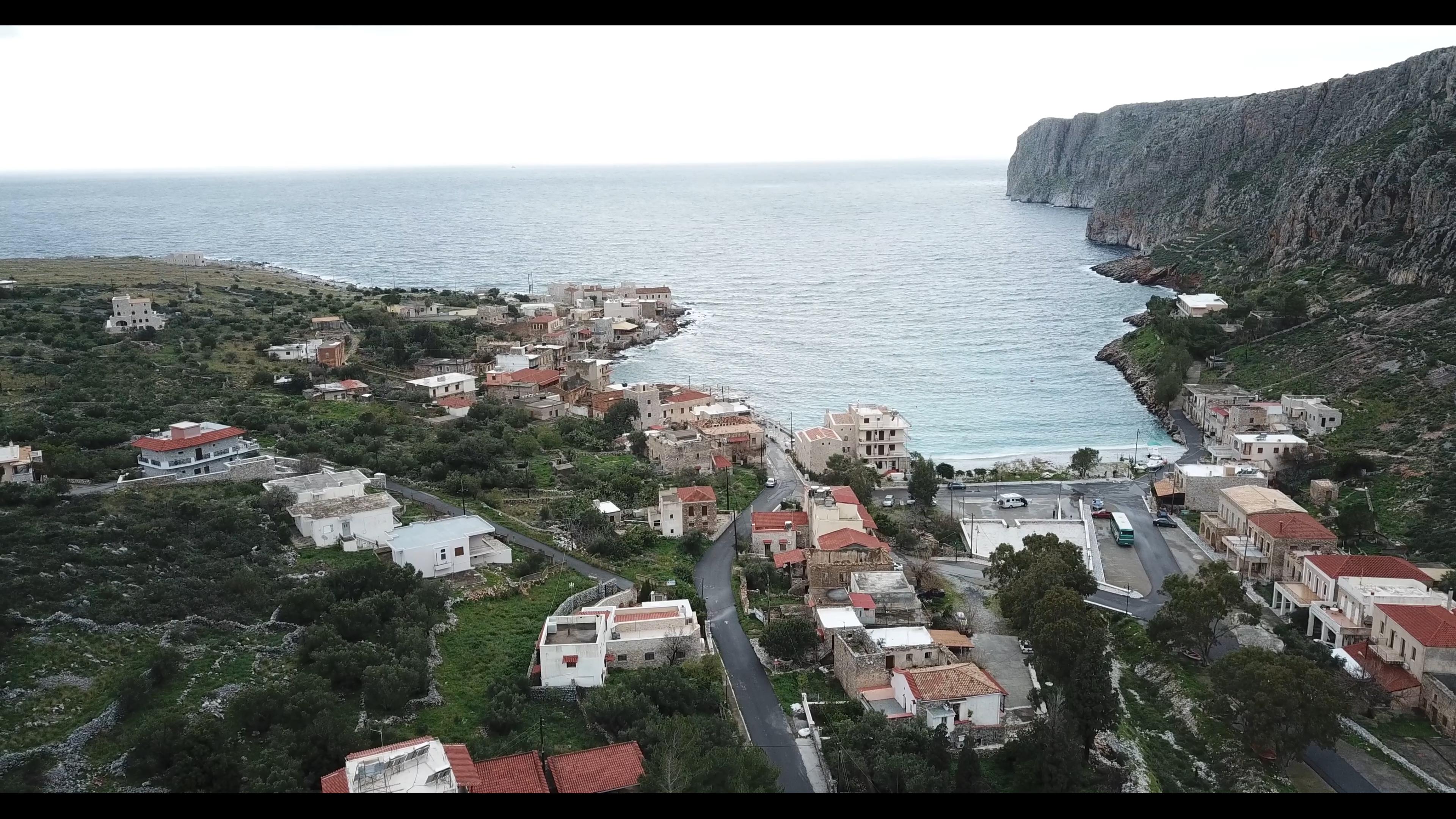 VIDEO: GRECIA DESDE EL AIRE: GEROLIMENAS, PELOPONESO
