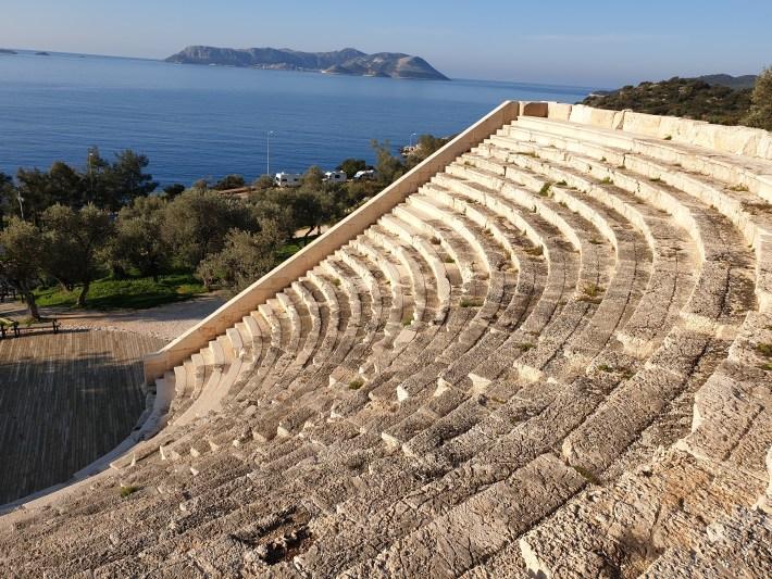 Anfiteatro, Kas (Turquía)