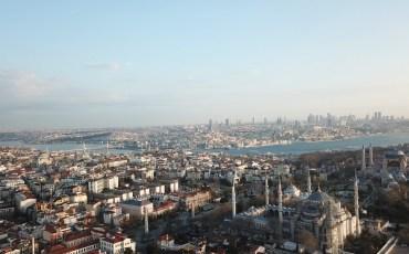 VIDEO: TURQUÍA DESDE EL AIRE: ESTAMBUL (TURQUÍA) 4K