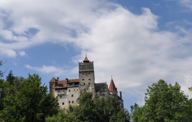 Castillo de Drácula, Castillo de Bran (Rumanía)