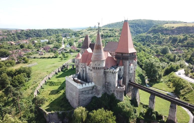 Castillo de los Corvin, Huneodara (Rumania)