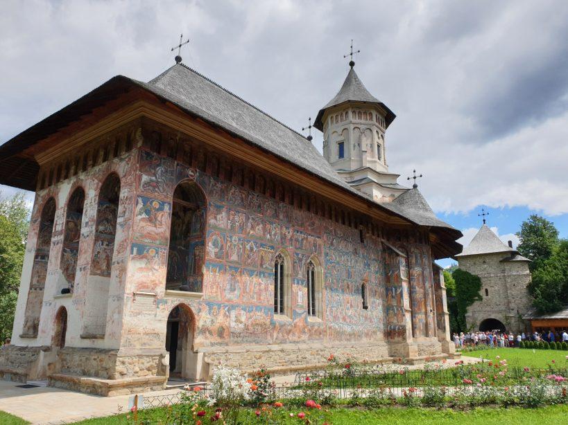 Monasterio de Moldovita, Bucovina (Rumanía)