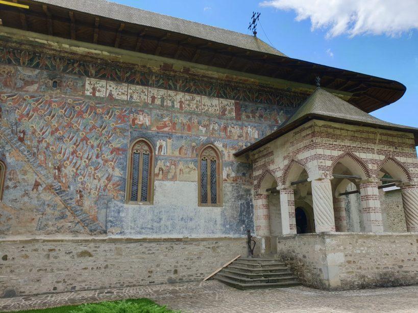 Monasterio de Sucevita, Bucovina (Rumanía)
