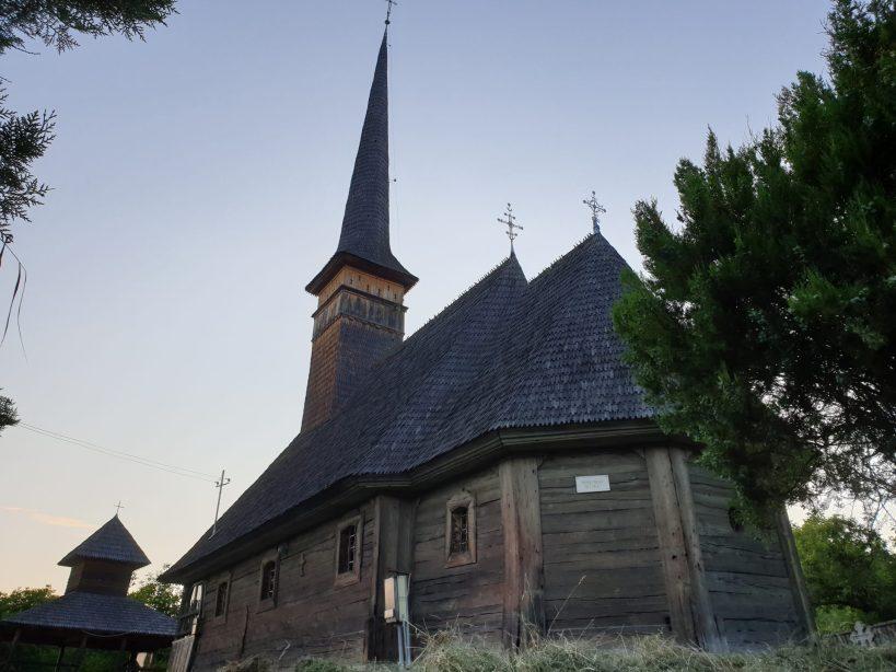 Iglesia de madera de Rastoci, Maramures (Rumanía)