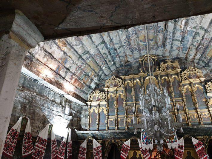 Iglesia de madera de Surdesti, Maramures (Rumanía)