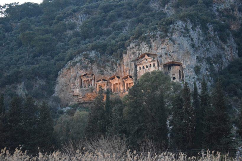 Las Tumbas Reales, Dalyan (Turquía)