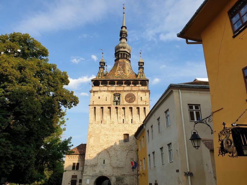 La Torre del Reloj, Sighisoara (Rumanía)