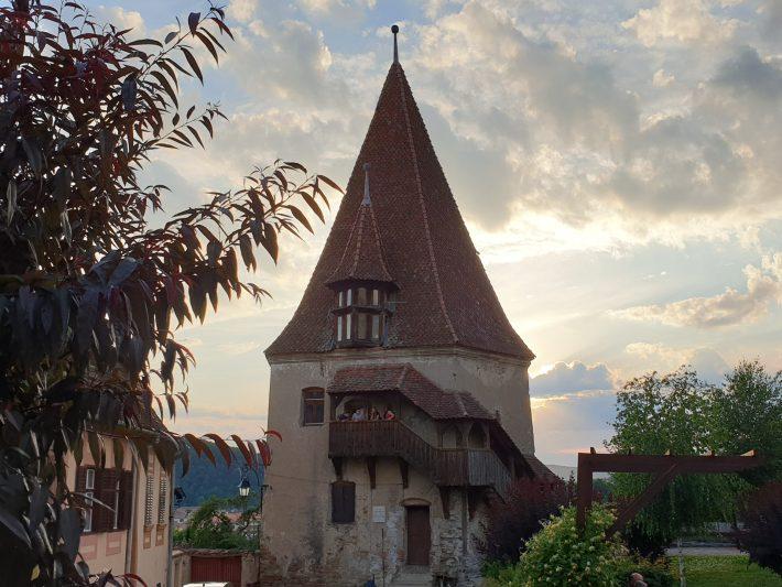 Turnul Cizmarilor, Torre de los Zapateros, Sighisoara (Rumanía)