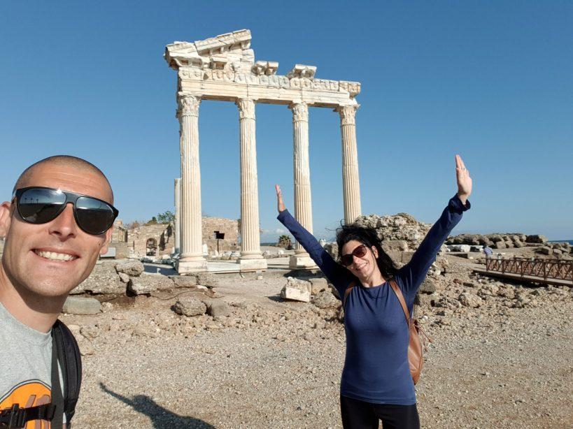 Templo de Apolo y Atenea, Side (Turquía)