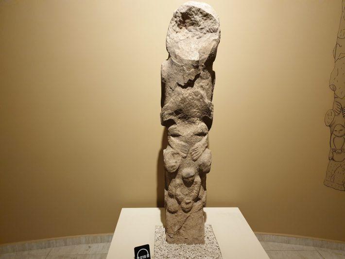 Totem Göbekli Tepe, Museo Arqueológico de Sanliurfa (Turquía)