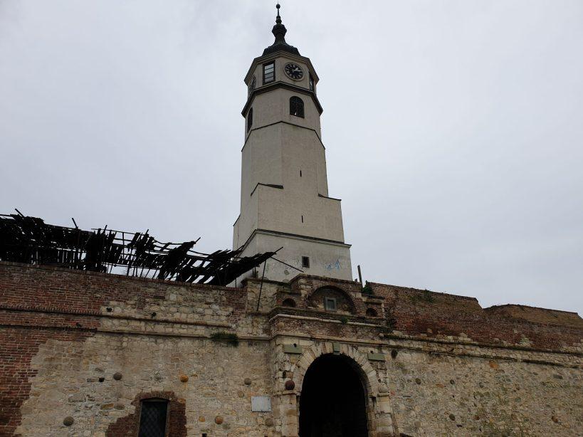 Torre del Reloj, Fortaleza de Belgrado, Kalemegdan (Serbia)