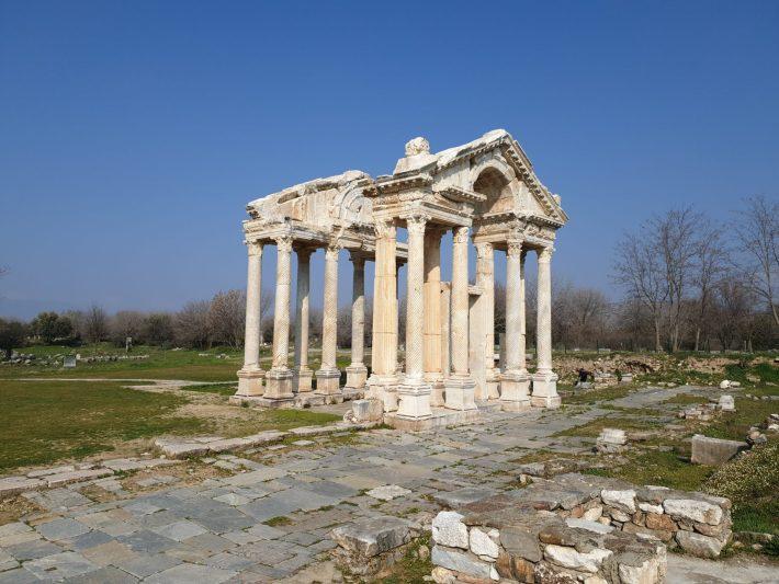 Tetrápilo, Afrodisias (Turquía)