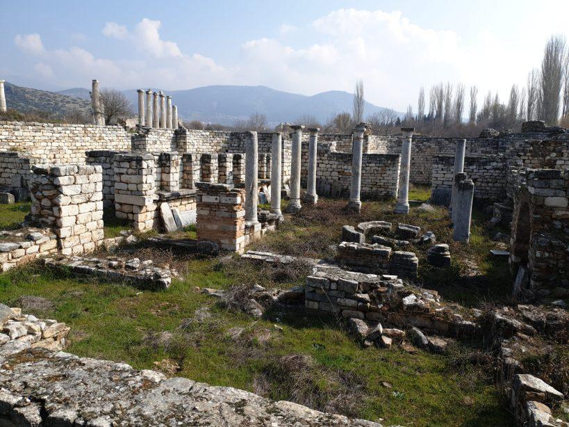 Palacio Episcopal, Afrodisias (Turquía)