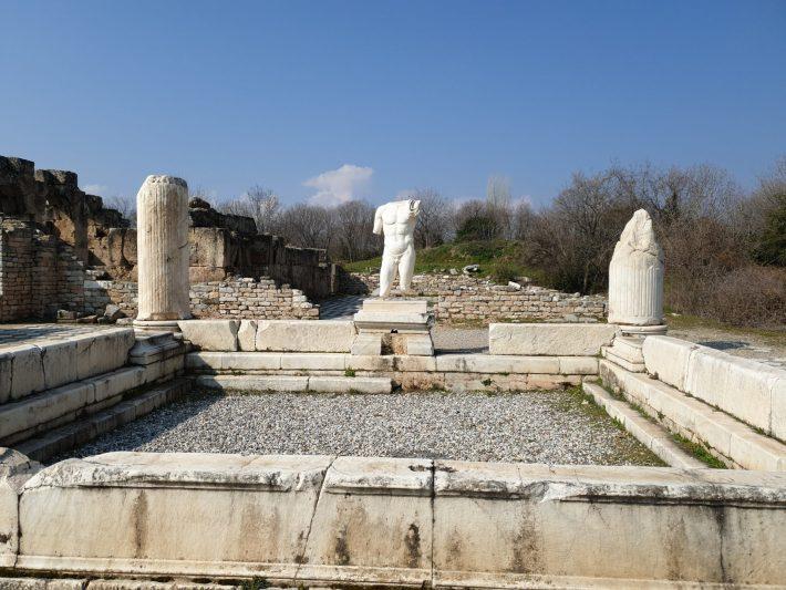 Termas de Adriano, Afrodisias (Turquía)