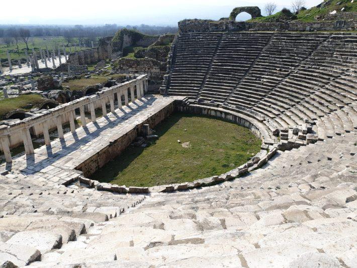 Teatro de Afrodisias (Turquía)