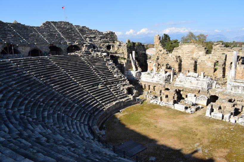 Teatro de Side (Turquía)