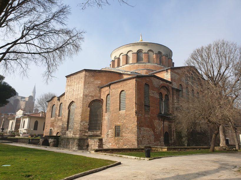Aya Irini, Patio de Los Jenízaros, Palacio Topkapi , Estambul (Turquía)