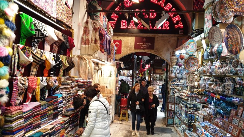 Gran Bazar, Estambul (Turquía)