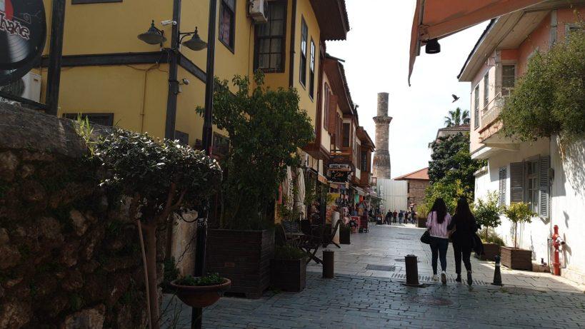 Kesik Minare, Kaleiçi, Antalya (Turquía)