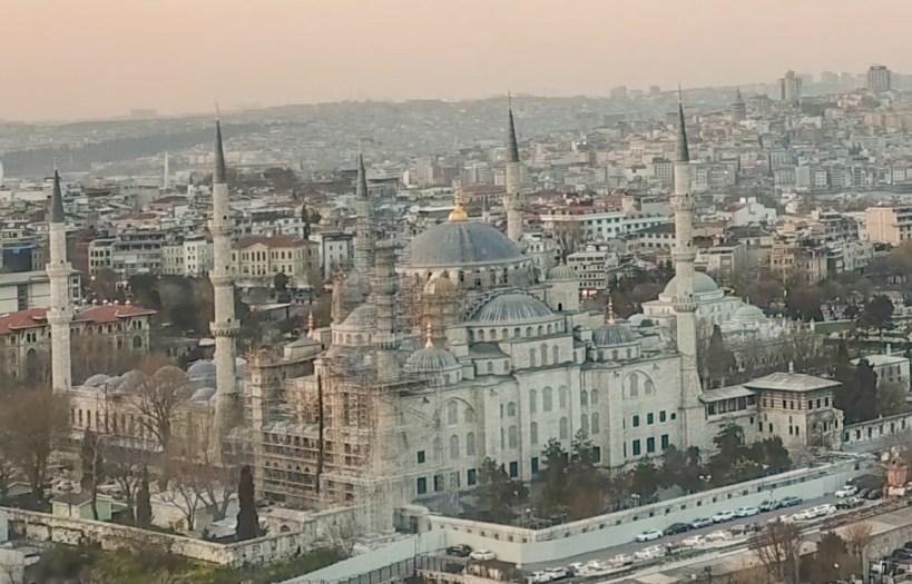 La Mezquita Azul en Sultanahmed, Estambul (Turquía)