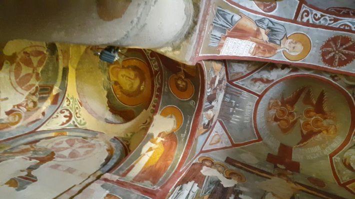 Elmali Kilise, Museo al aire libre de Göreme, Capadocia (Turquía)