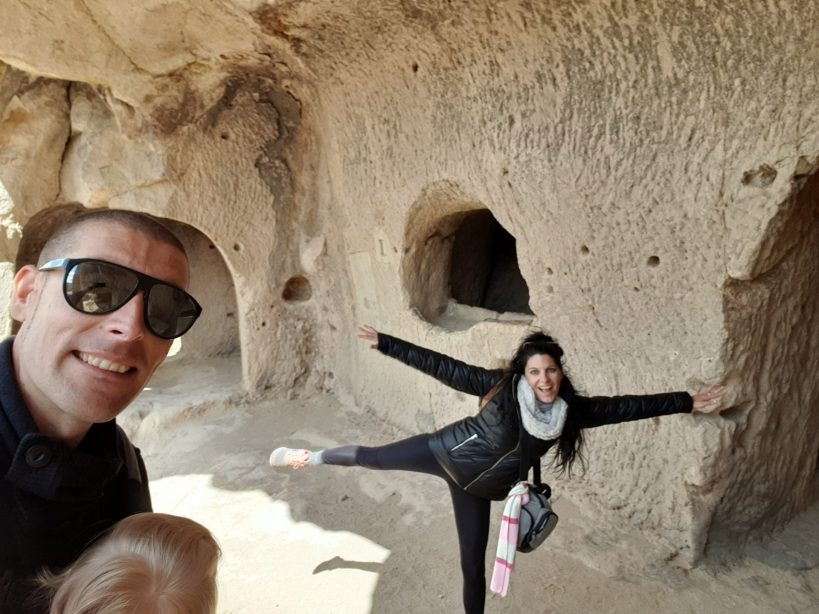Alrededores del Museo al aire libre de Göreme, Capadocia (Turquía)