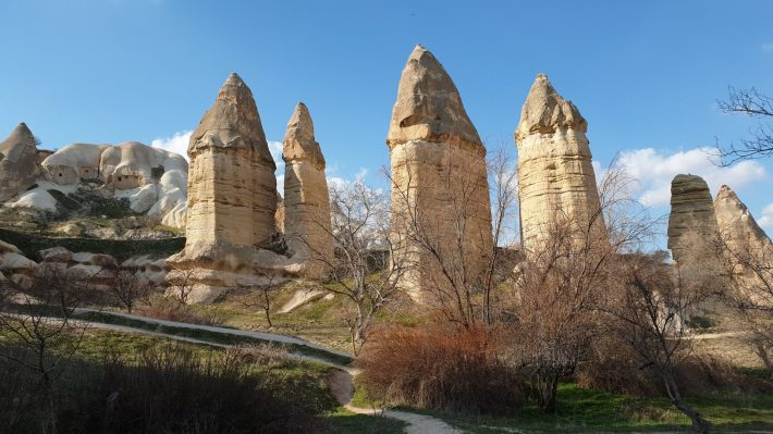 Gürkündere Vadisi, Göreme, Capadocia (Turquía)