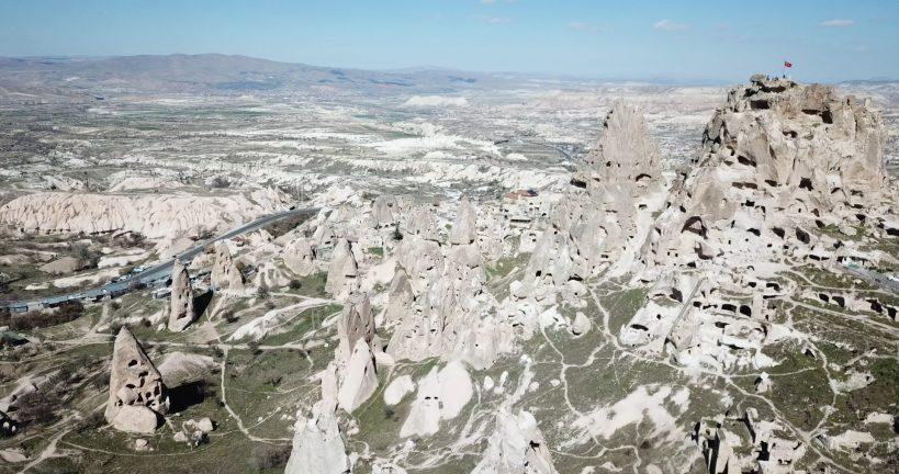 Uçhisar, Capadocia (Turquía)