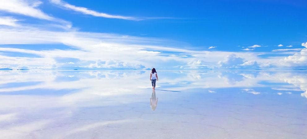 Salar de Uyuni el mayor espejo natural