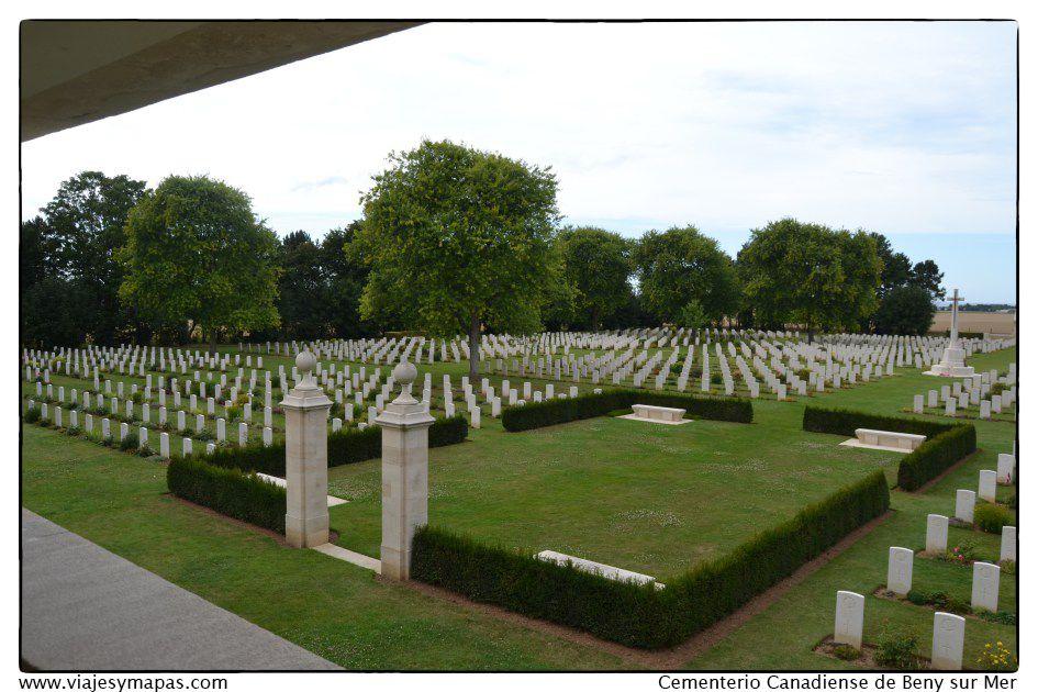 Cementerio Canadiense Beny sur Mer